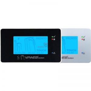 teclado de alarme touch screen viaweb system